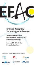 5th EFAC Assembly Technology Conference - EU-nited