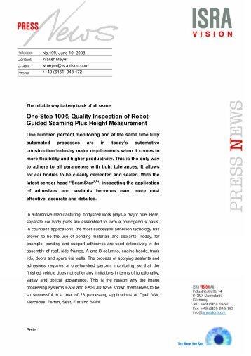 ISRA Vision PI 199_2008 - EU-nited