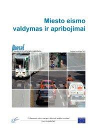 Miesto transporto valdymas ir apribojimai - PORTAL - Promotion of ...