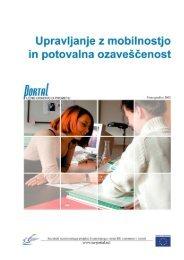 Upravljanje z mobilnostjo - PORTAL - Promotion of results in ...