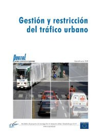 2. Gestión y Restricción de Tráfico - PORTAL - Promotion of results ...