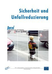 9. Sicherheit und Unfallreduzierung - PORTAL - Promotion of results ...