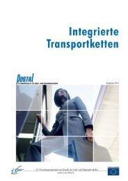 2. Integrierte Transportketten - PORTAL - Promotion of results in ...