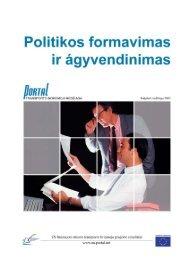 2. Politikos formavimas