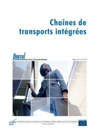 Chaînes de transports intégrées - PORTAL - Promotion of results in ...