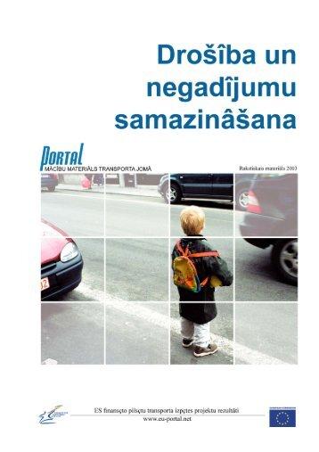 9. Drošība un negadījumu samazināšana - PORTAL - Promotion of ...