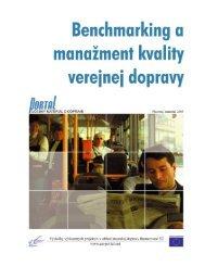 2. Obsah pojmu kvalita verejnej dopravy