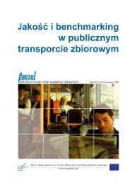 Jakość i benchmarking w TZ 1 PORTAL - PORTAL - Promotion of ...