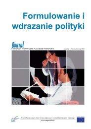 2. Formułowanie polityki
