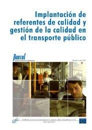 Implantación de referentes de calidad y gestión de - PORTAL ...