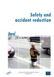 Safety and Accident Reduction 1 PORTAL Written Material www.eu ...