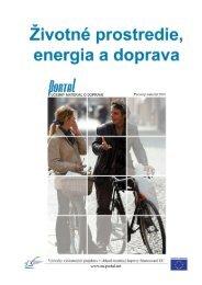 6. Životné prostredie, energia a doprava