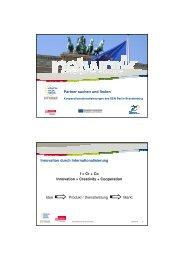 Kooperationsdienstleistungen des EEN - Enterprise Europe Network ...