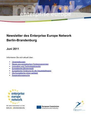 Newsletter des Enterprise Europe Network Berlin-Brandenburg Juni ...