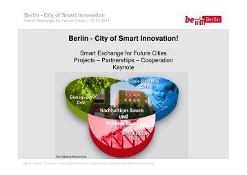 Berlin - City of Smart Innovation!