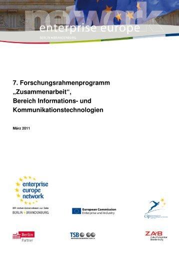 7. Forschungsrahmenprogramm - Enterprise Europe Network ...