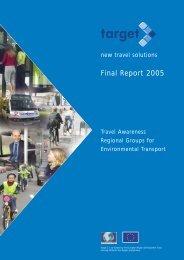 Final Report 2005 - EU-Target