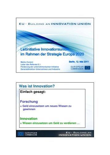 Innovation - Enterprise Europe Network - Berlin Brandenburg