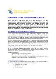 Tschechien - Europäisches Verbraucherzentrum Deutschland