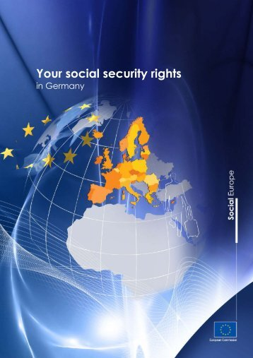 "Brochure ""Your social security rights in Germany"""