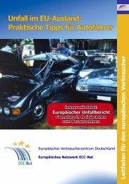 Unfall im EU-Ausland - Europäisches Verbraucherzentrum ...