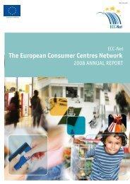 2008 Annual report - Europäisches Verbraucherzentrum Deutschland