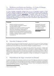 A. Médiation-conciliation sans frontières - Le Centre d'échanges ...