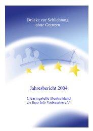 Die Clearingstelle Deutschland dient seit Anfang des Jahres 2002 ...