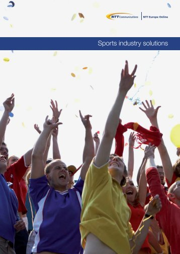 Sports industry solutions - NTT Europe