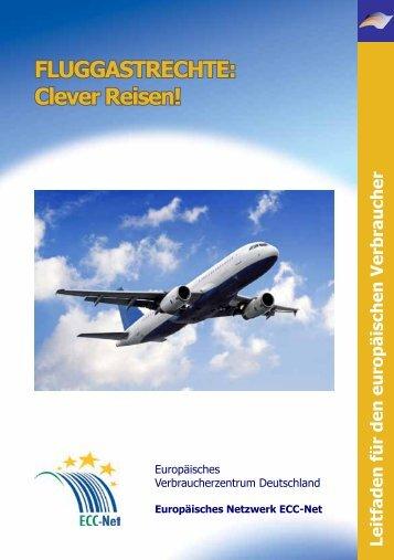"""Broschüre """"Fluggastrechte: Clever Reisen!"""" - Europäisches ..."""