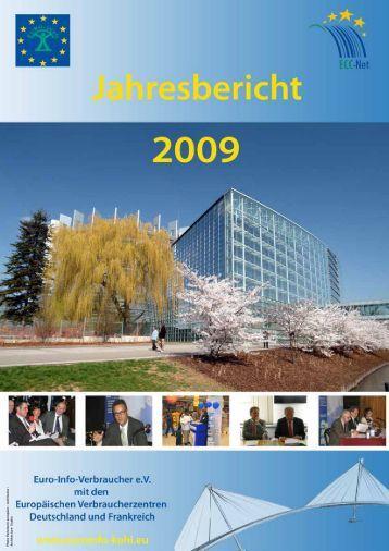 Jahresbericht 2009 - Europäisches Verbraucherzentrum Deutschland