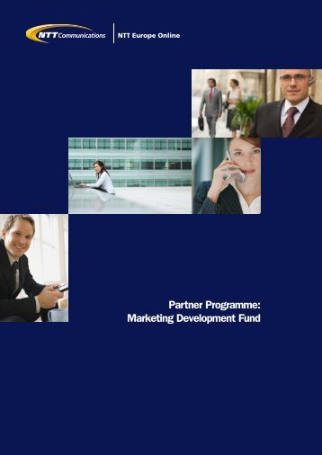 Partner Programme: Marketing Development Fund - NTT Europe