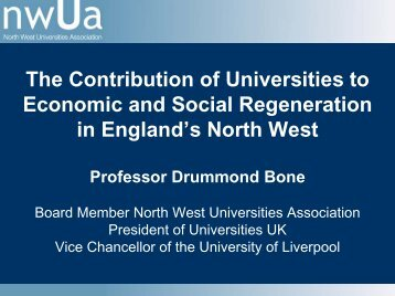 The Contribution of Universities to Economic and Social ...