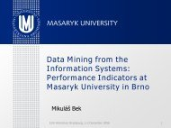 Data Mining from the Information Systems: Performance Indicators at ...