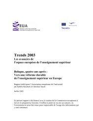 Trends 2003 - European University Association