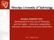 extensive cooperation between universities and local a - European ...