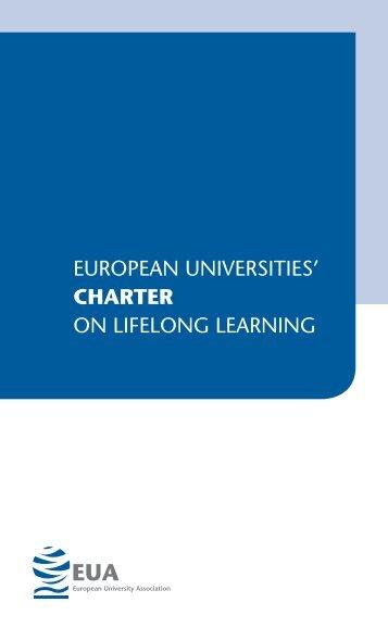 Charter on Lifelong Learning - European University Association