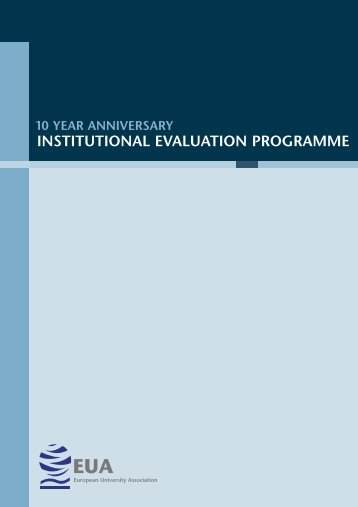 institutional evaluation programme - European University Association