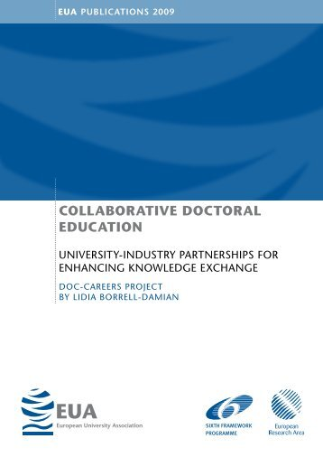 Collaborative DoCtoral eDuCation - European University Association