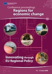Innovating through EU Regional Policy - European University ...