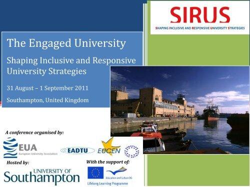 The Engaged University - European University Association