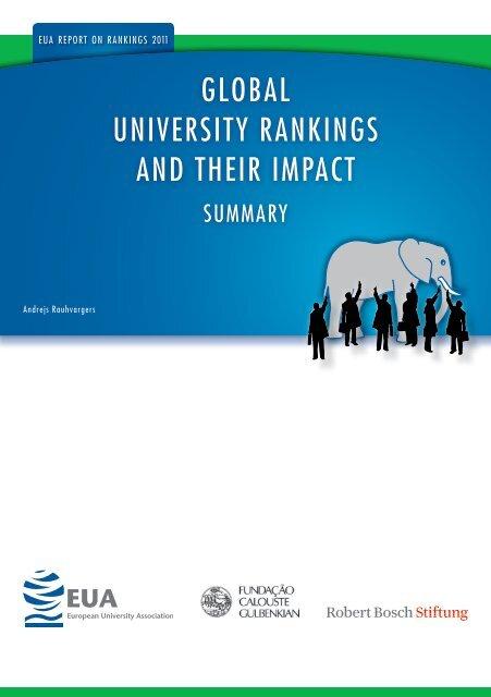 global university rankings and their impact - EUA - European ...