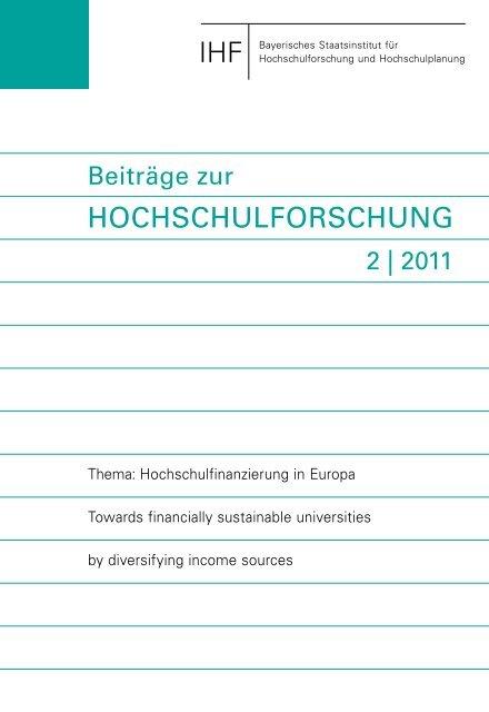 Beiträge zur Hochschulforschung - European University Association