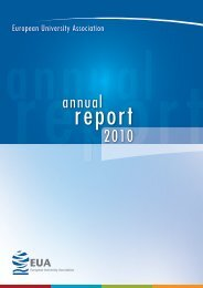EUA Annual Report 2010 - European University Association