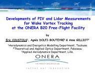 ONERA B20 Catapult Free-Flight Facility - Eucass