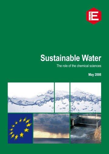 EuCheMS Publication - Sustainable Water Report