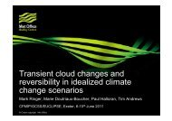 Transient cloud changes and reversibility in idealized ... - euclipse