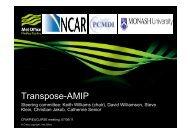 Transpose-AMIP - euclipse