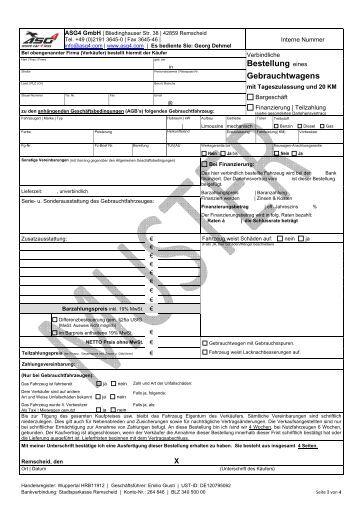 Autoscout24 Umowa 0425