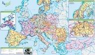 rail map - Eurail